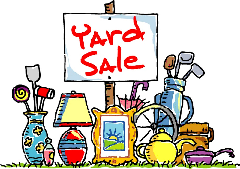 June 7, 2014: All Church Garage Sale