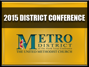 Metro District Conference: May 17, 2015