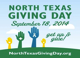 October 14, 2014: North Texas Giving Day Update