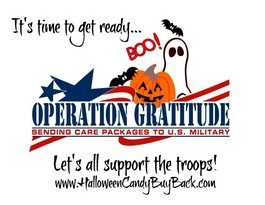 October 2014: Monthly Outreach Project – Operation Gratitude