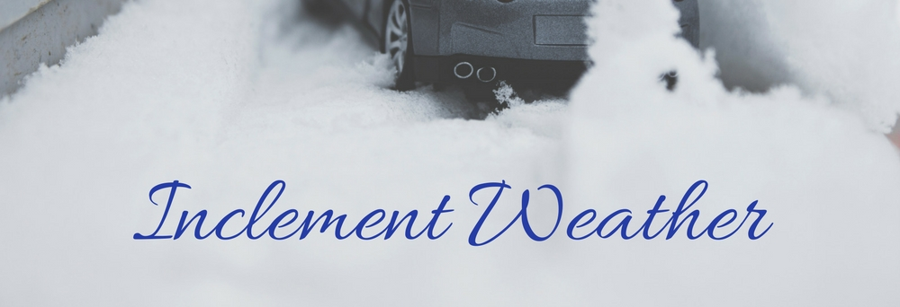 Regarding Inclement Weather Chapel Hill United Methodist