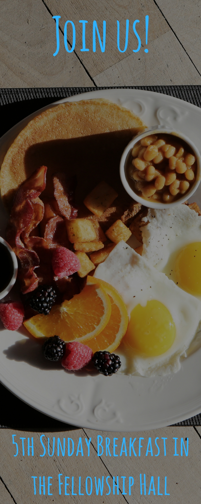 5th Sunday Program & UMM breakfast