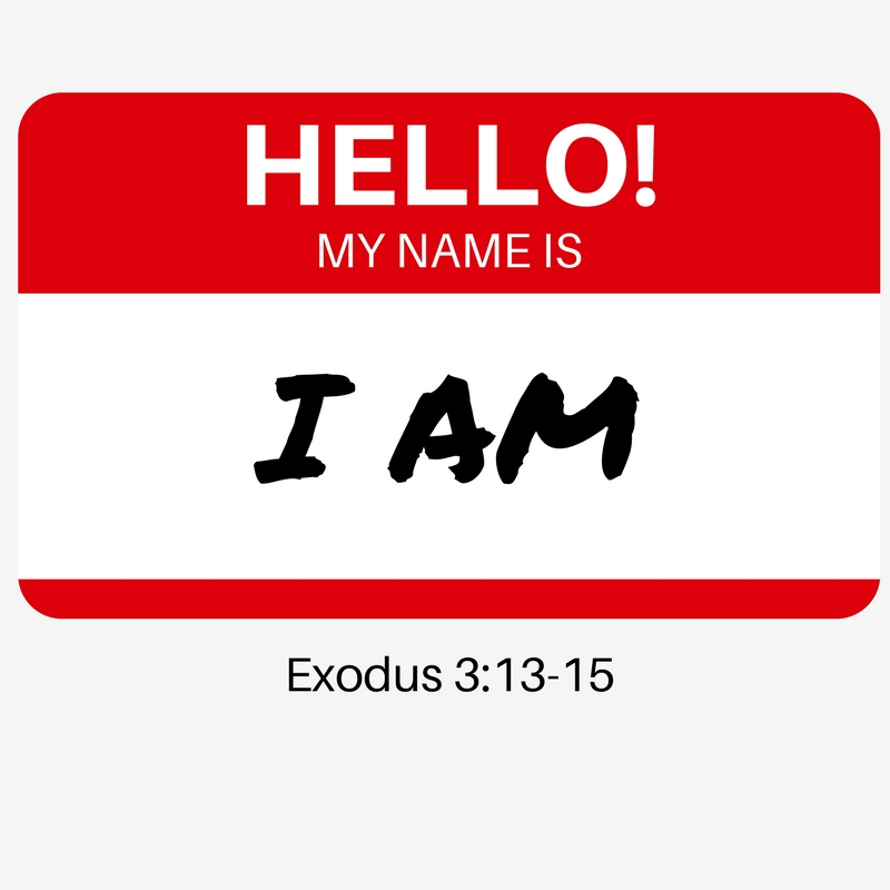 New Sermon Series: Hello! My Name Is…