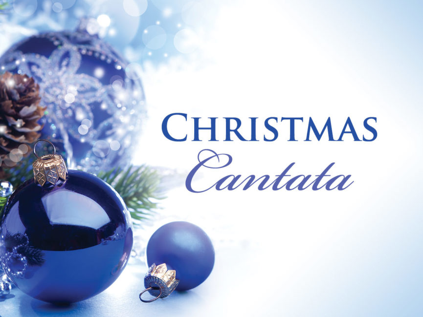 "Christmas Cantata ""God is With Us"" December 16, 2018 10:30 AM"