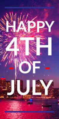 Office Closed July 4th and 5th