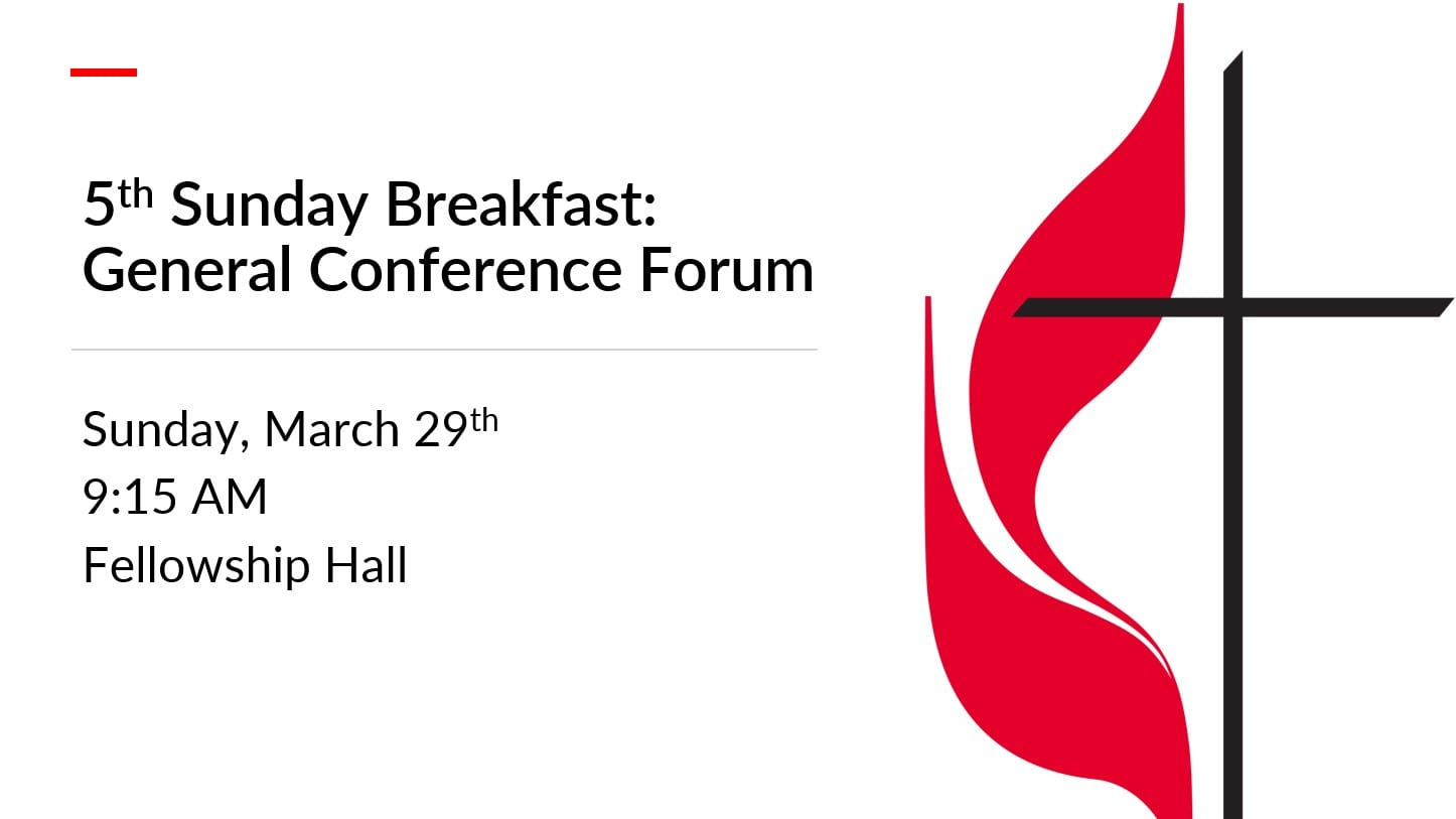 5th Sunday Breakfast: General Conference Forum