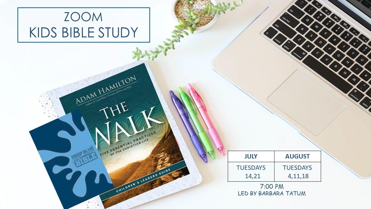 Zoom Kids Bible Study